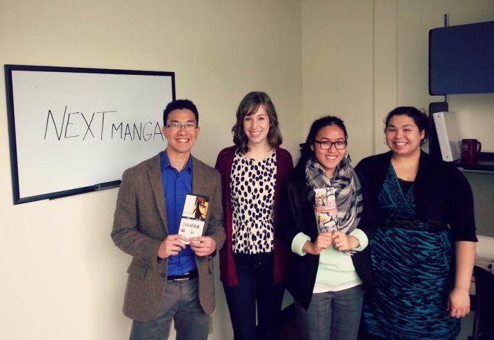 The Team: Abraham Wairisal, Lauren Cosgrove, Hoa Le & Juliana Garcia